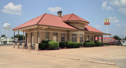 The Cotton Belt Depot Visitors Center